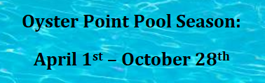 Oyster Point Pool Season 4.1-10.15