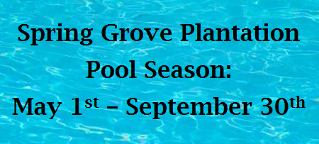 Spring Grove Pool Season
